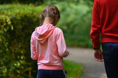 Bambina, dialogo padre e figlia