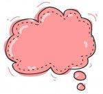 Fumetto rosa del pensiero